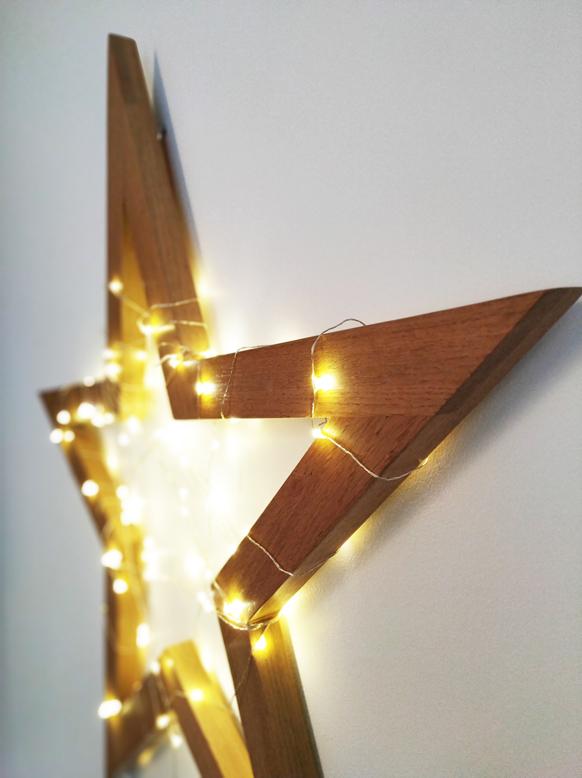 objet déco etoile lumineuse Jules B sur mesure mobilier