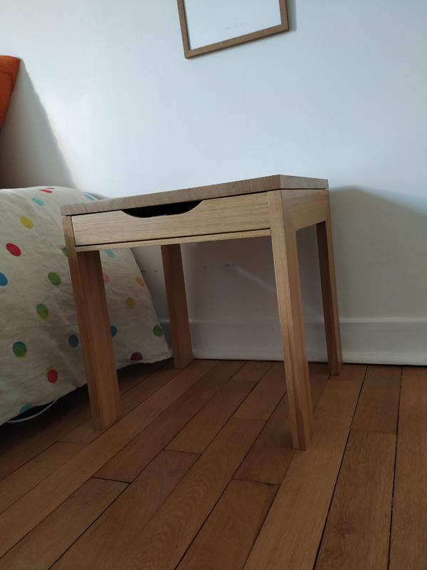 table en U Jules B mobilier contemporain