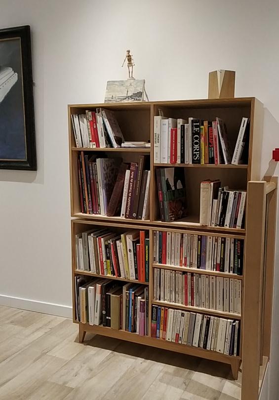 bibliothèque modulaire Jules B superposée