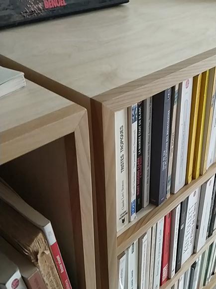 bibliothèque modulaire Jules B detail