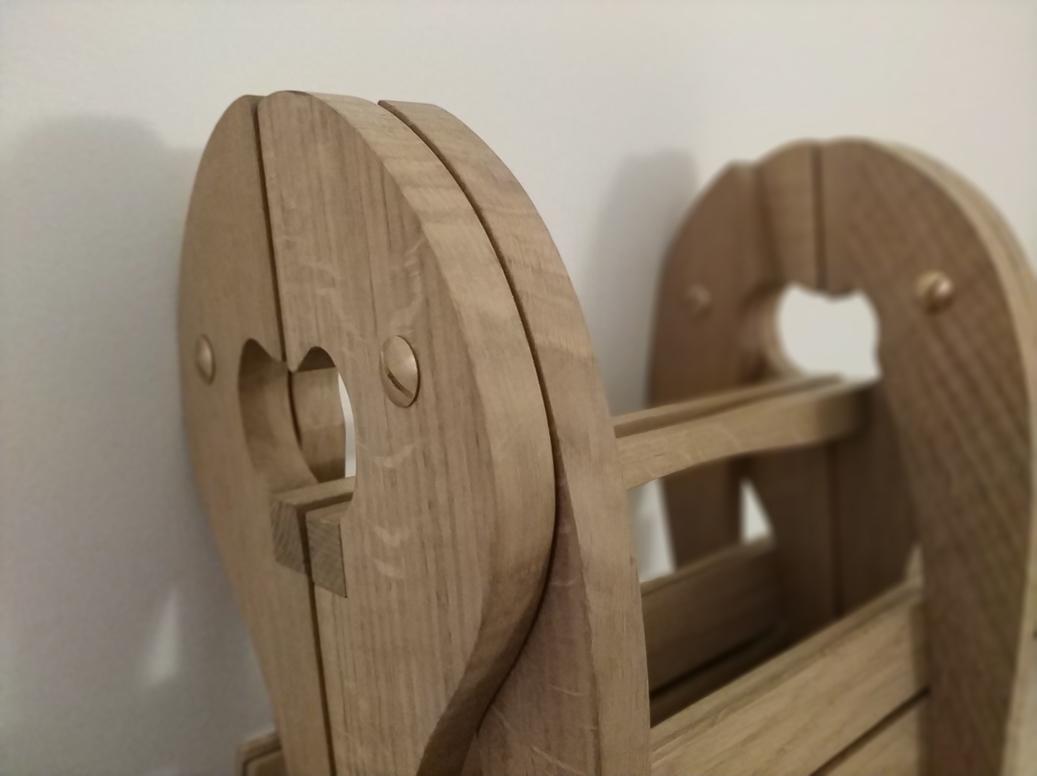 Chaise pliante Jules B mobilier contemporain